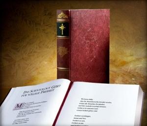 """Religiöses Buch """"Ursprung, geistlichtes Amt, Zeremonien & Predigten der Scientology Religion"""""""