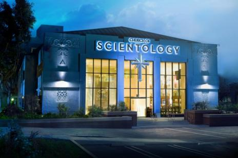 Das Gebäude der Scientology Kirche in Los Angeles - Foto: Copyright (c) 2013 Church of Scientology International. Alle Rechte vorbehalten.
