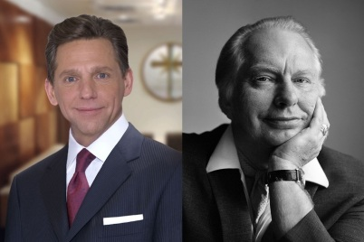 David Miscavige und Scientology-Gründer L. Ron Hubbard - Foto: Copyright (c) 2014 Church of Scientology International. Alle Rechte vorbehalten.