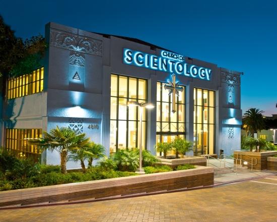 Das Gebäude der Church of Scientology Los Angeles